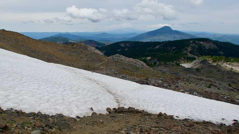 A look back at Mt. Hood