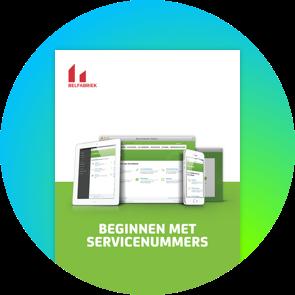 Gratis e-boek van de Belfabriek: Beginnen met servicenummers