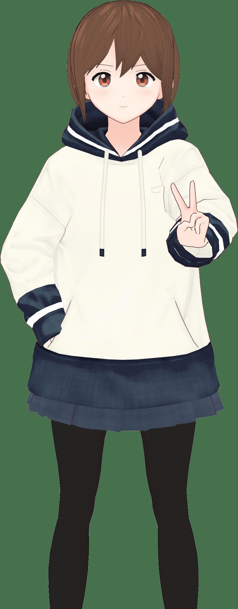 kawaii character