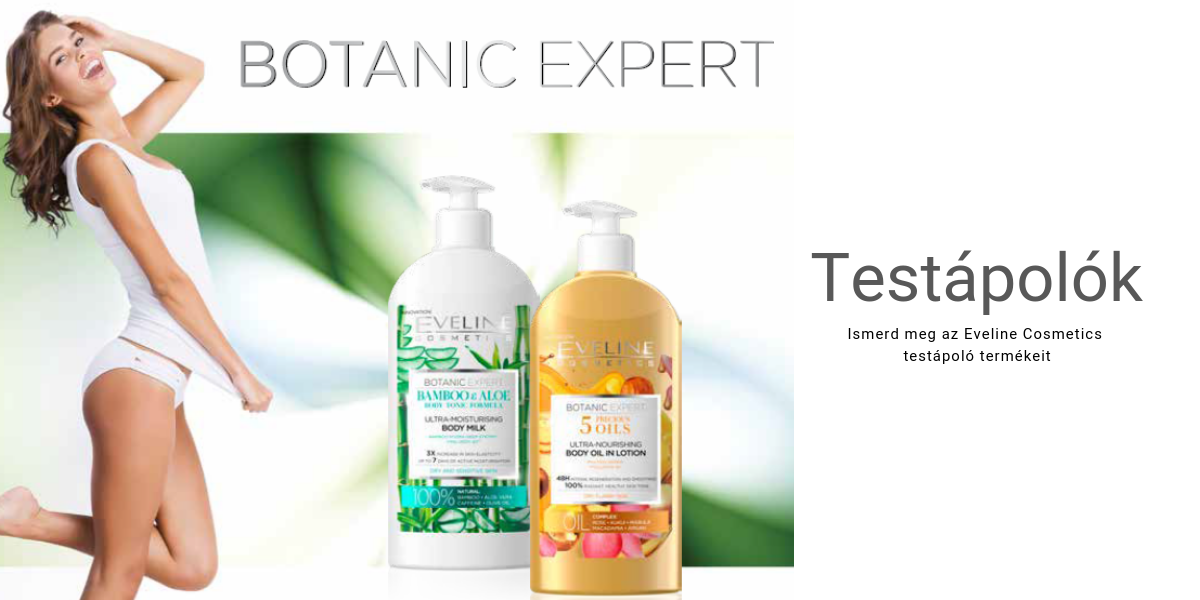 Eveline Cosmetics testápolók