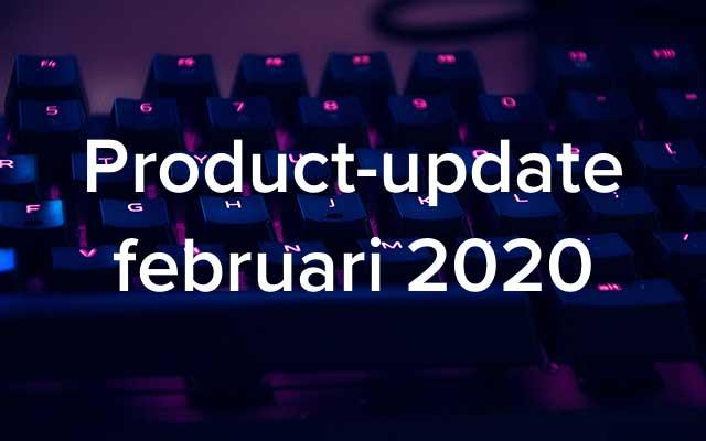 Product-update februari: eigen video's gebruiken, visualisatie leerinspanningen en autorisatiematrix