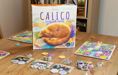 Színek és minták összjátéka - Calico