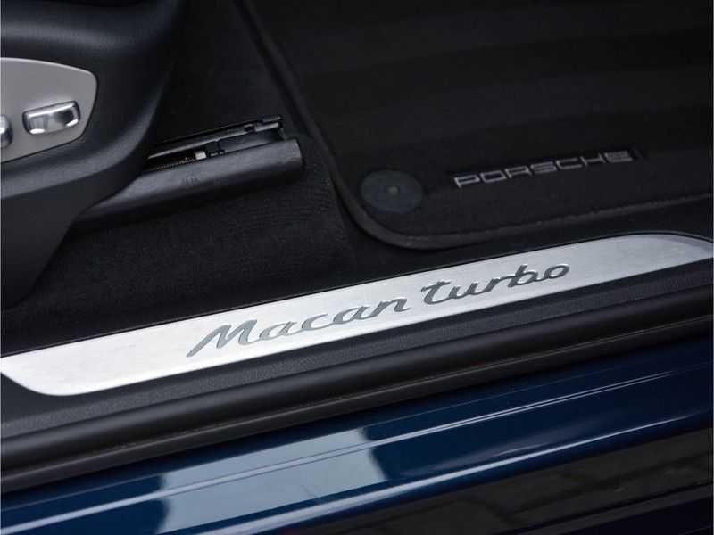 Porsche Macan 3.6 Turbo PDK 400pk Lucht Carbon Pano Zetels-18-weg Alcant.hemel Led Leder-dash afbeelding 18