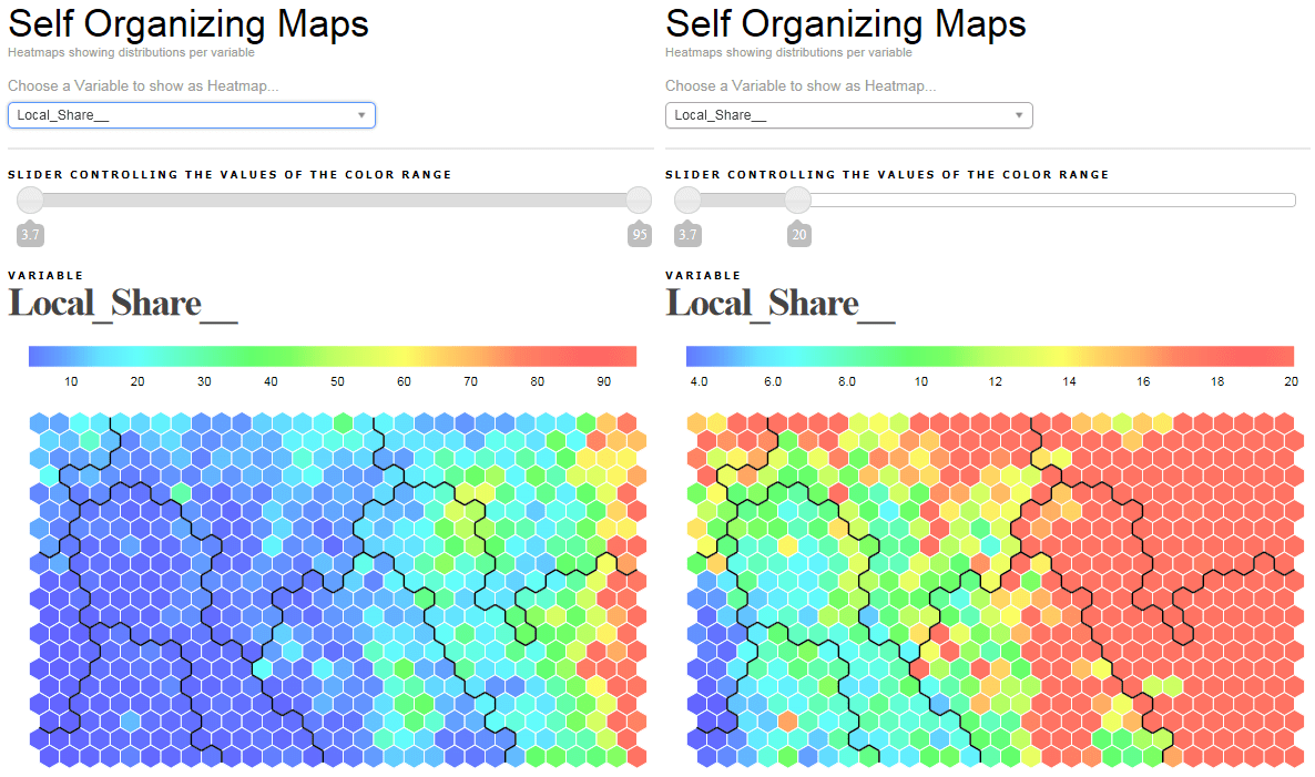 Creating hexagonal heatmaps with d3 js | Visual Cinnamon