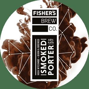 Fisher's Smoked Porter keg badge