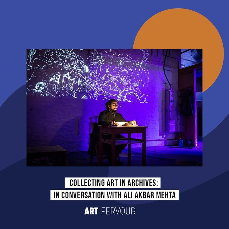 Collecting Art in Archives: In Conversation with Ali Akbar Mehta
