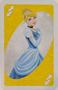 Disney Princess (2012) Yellow Uno Reverse Card