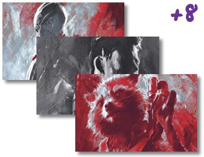 Avengers Artwork theme pack