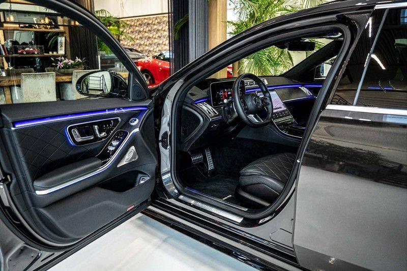 Mercedes-Benz S-Klasse 400d 4Matic Lang AMG | 3D Display | Augmented Head-Up Display | Burmester 3D | Pano | Memory afbeelding 12