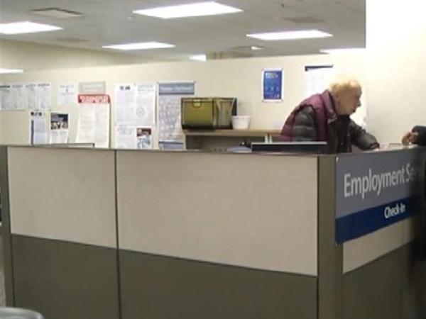 신규 실업보험 청구자수 증가추세