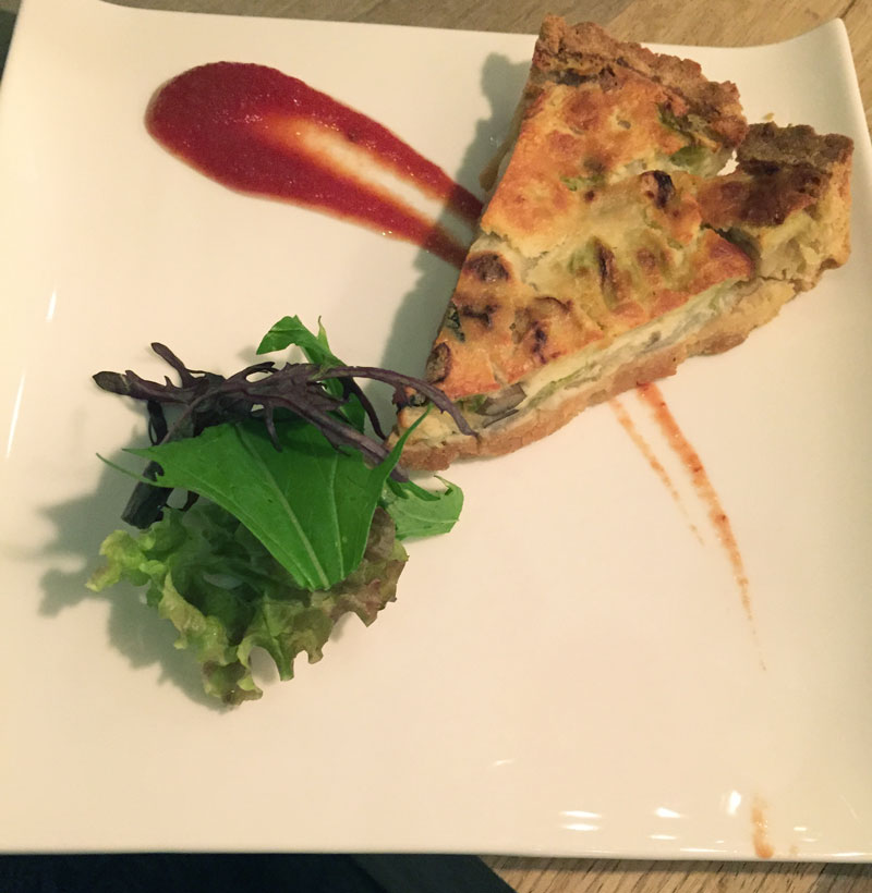 Choice quiche-of-the-day