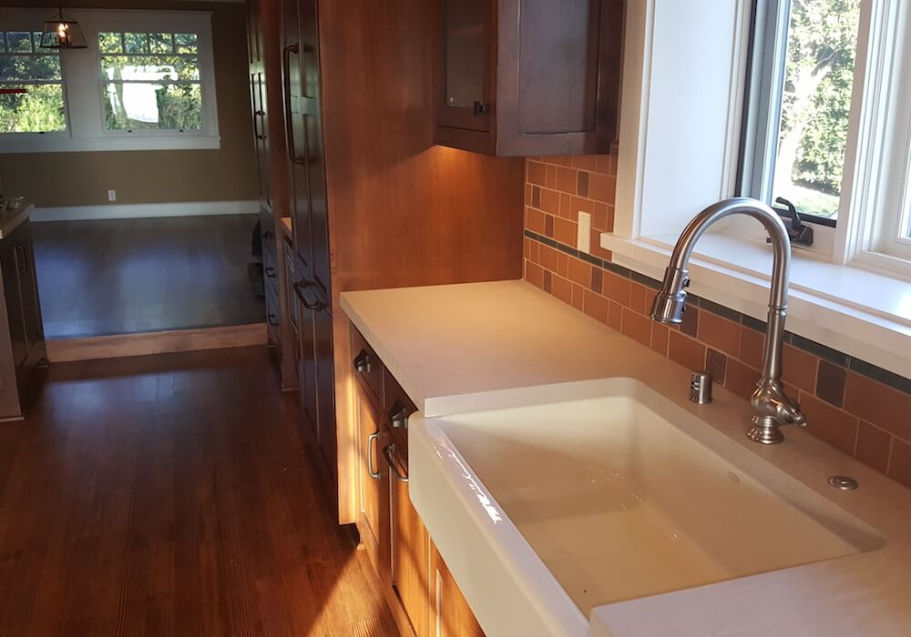 Farmhouse Sink with Custom Fixtures gallery image