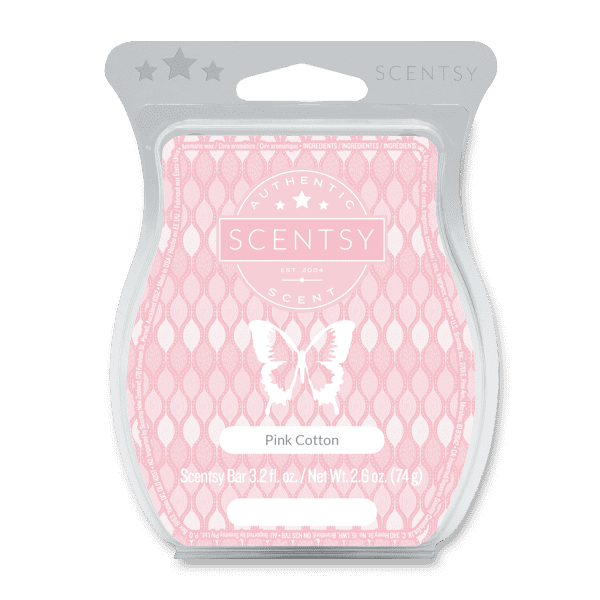 Pink Cotton Scentsy Bar