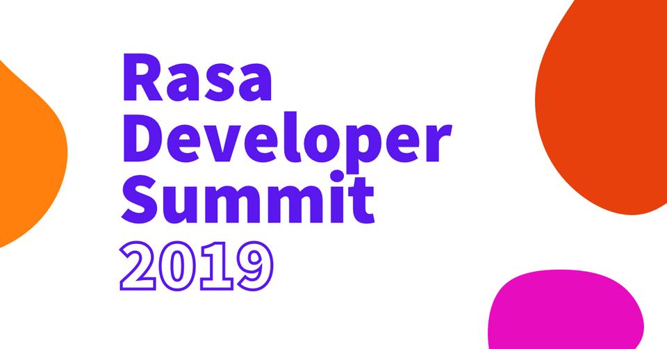 Rasa Developer Summit