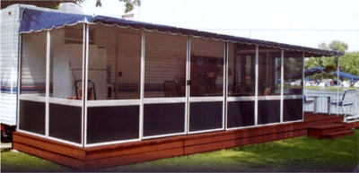 Deck enclosure kits three sided patio enclosures in canada add a room for rv or trailer solutioingenieria Gallery