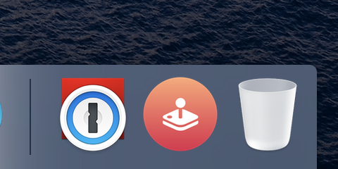 Apple Arcade Icon in the Dock