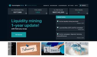 Hummingbot Miner: year 1 platform recap!