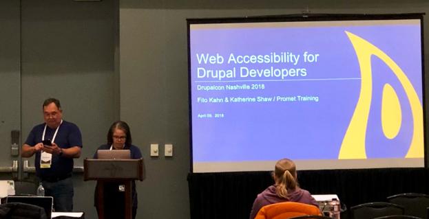 DrupalCon Accessibility Session