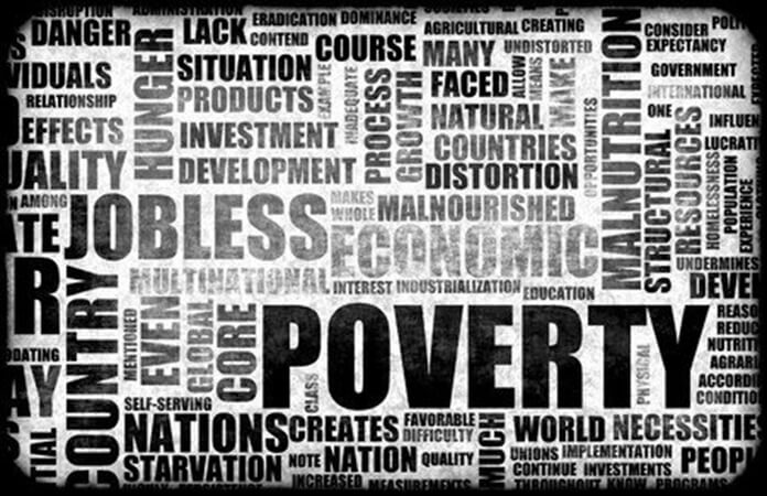 Poverty word cloud