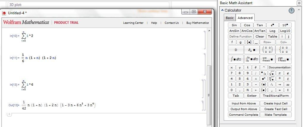 Mathematica Demo 3