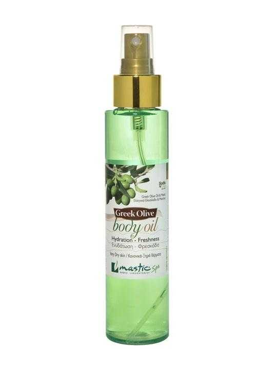 Body oil with mastic and olive oil – 125ml