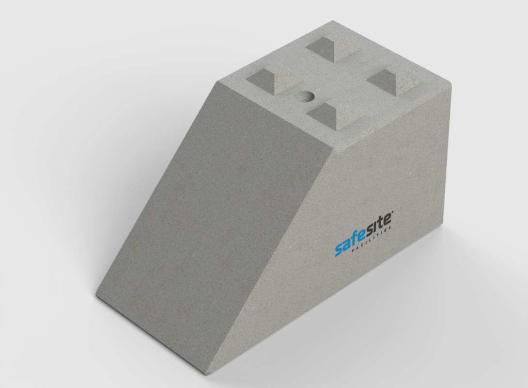 Concrete Lego Brick End