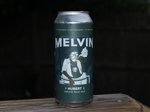 Hubert, a Melvin Pale Ale brewed by Melvin Brewing