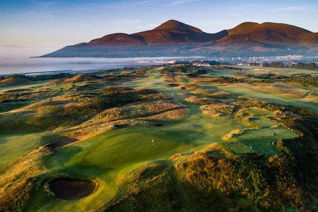 Golf trips to Royal County Down with Chauffeur Me.