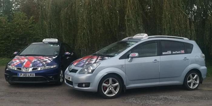 Taxi Company for Glastonbury, Street, Wells and whole of Somerset