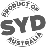 Product of SYD Logo