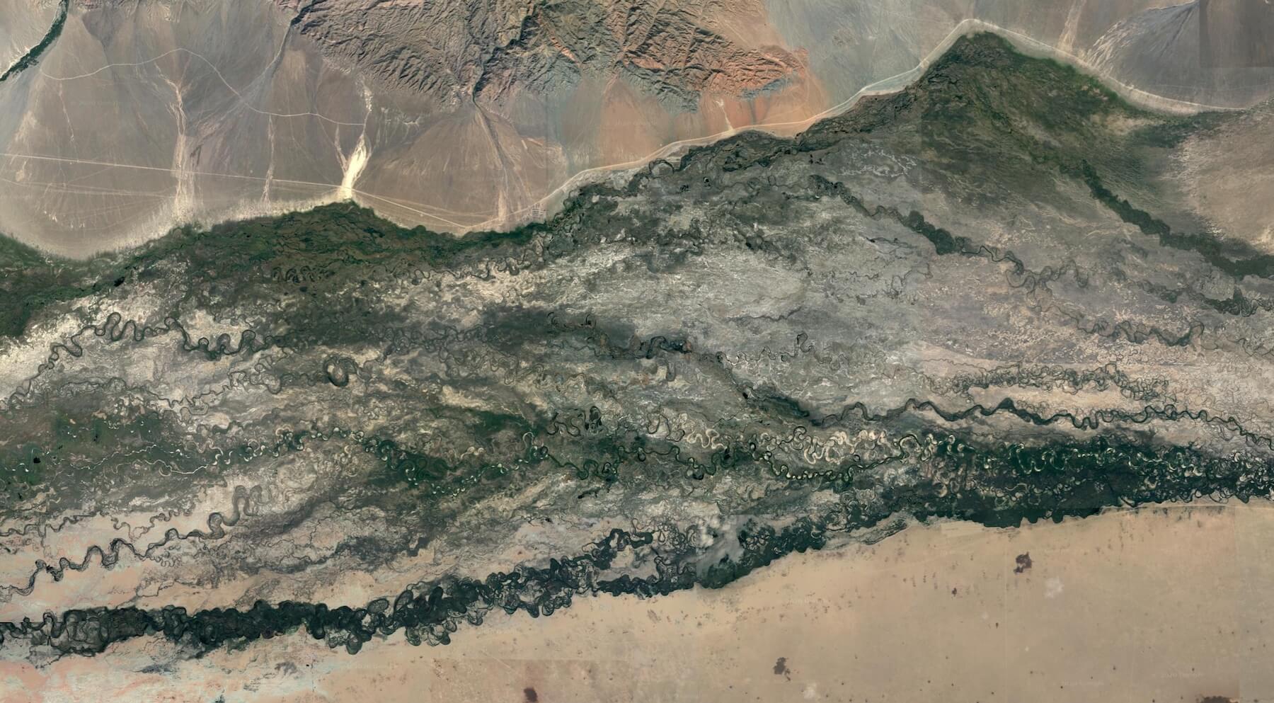 Tes River Basin