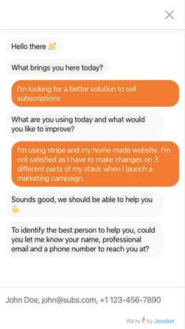 limio image chatbot demo
