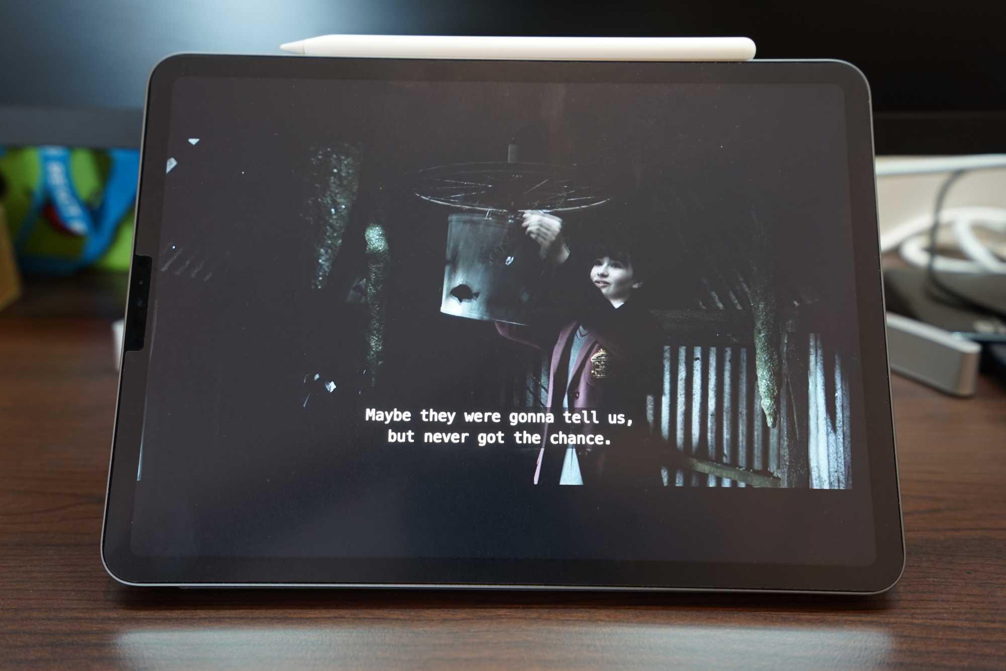 iPad Pro 11-inch with Netflix