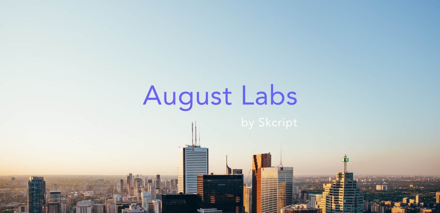 August Labs to help enterprises work at the speed of startups 🎉