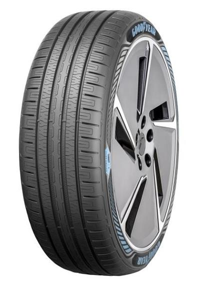 Front view of Goodyear's upcoming EfficientGrip Performance with Electric Drive Technology tires
