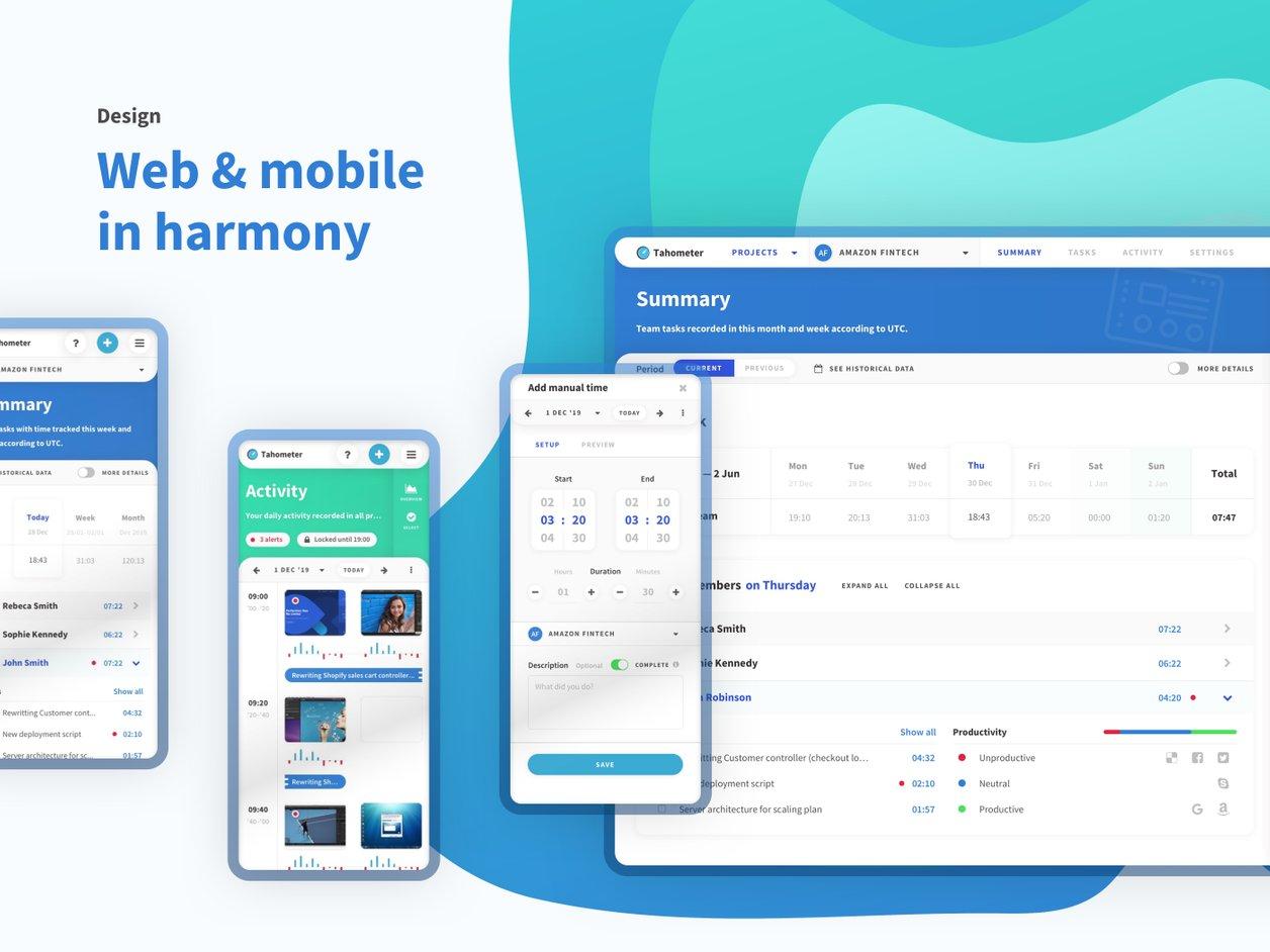 SaaS User Experience Design - UX Design | Tahometer