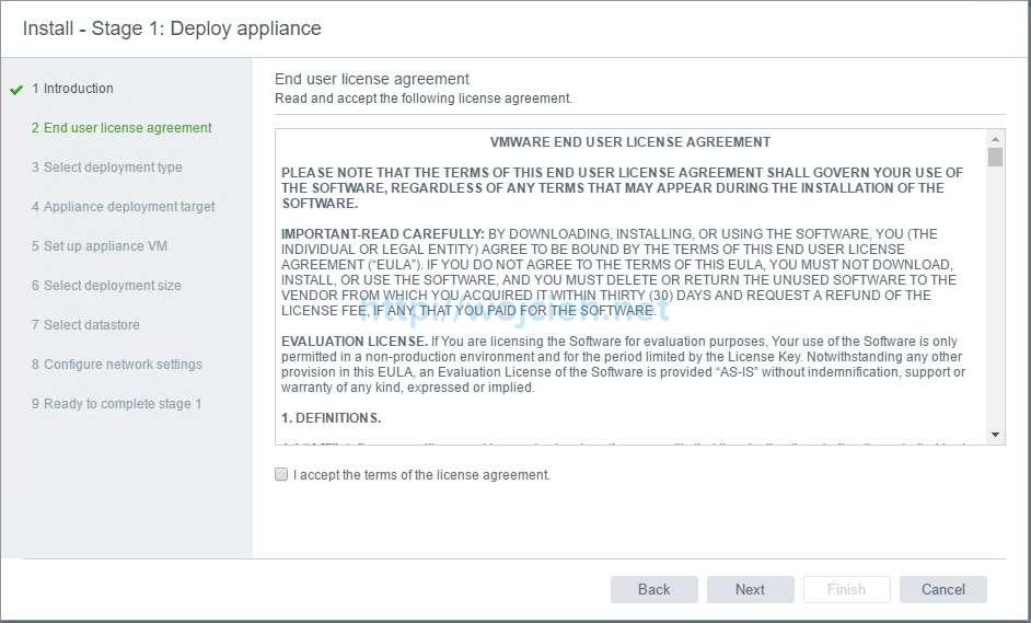 vCenter Server Appliance 6.5 with External Platform Services Controller - 3