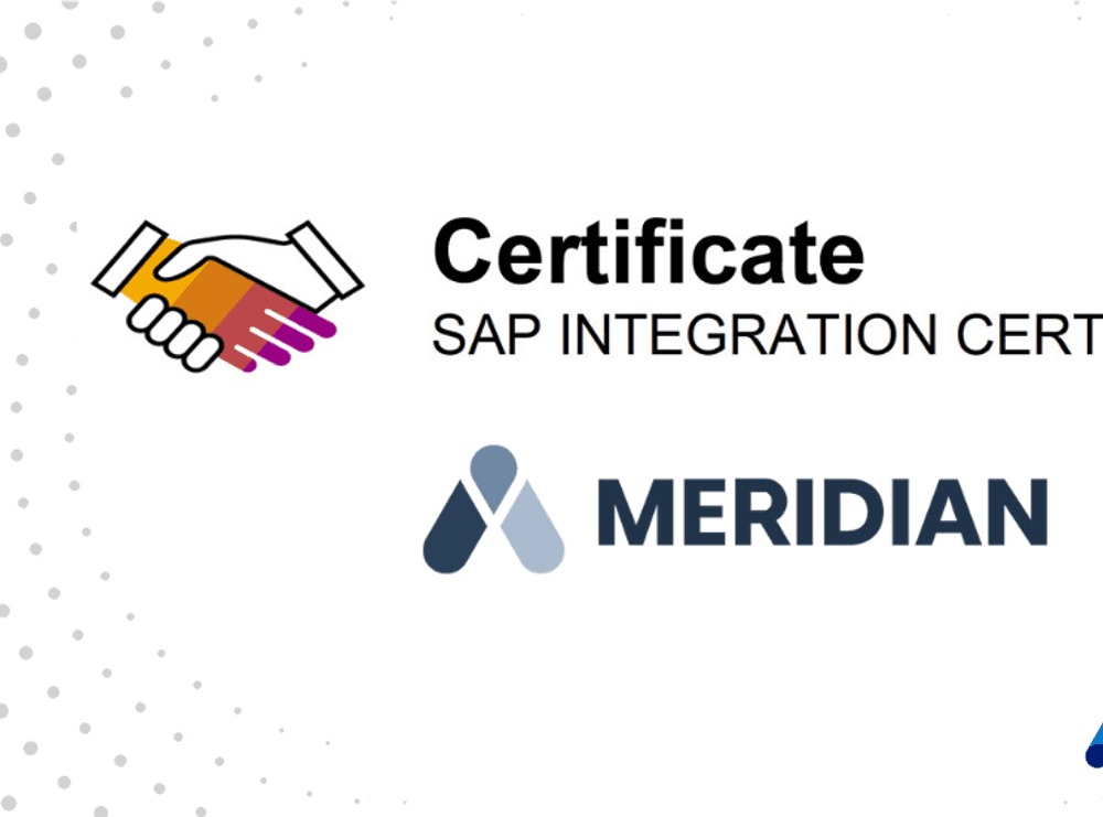 bob官方官网Accruent - bob体育连串过关Resources - Blog Entries - Meridian被公认为SAP认证解决方案在2021年-英雄