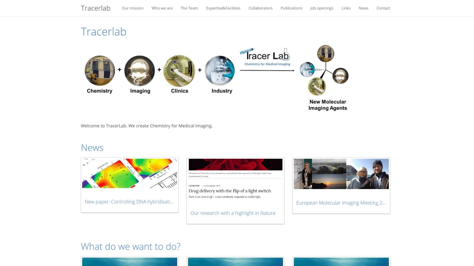 Tracerlab screenshot