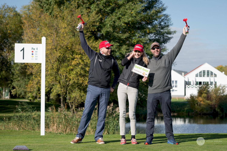 golfová túra, golfový turnaj