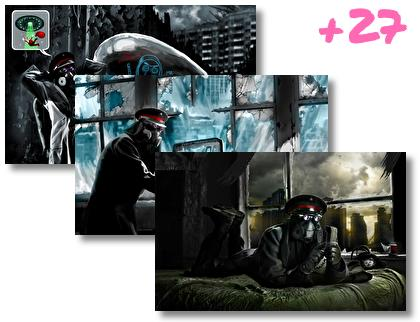 Romantically Apocalyptic theme pack