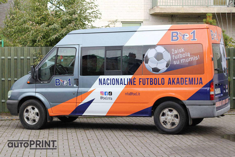 Be1 autobusiukas sportininkams