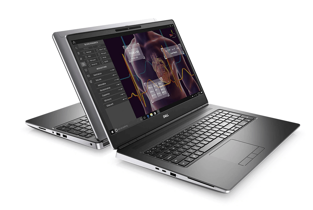 Dell Precision 7750 mobile data science workstation review