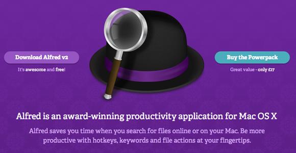 alfred productivity app