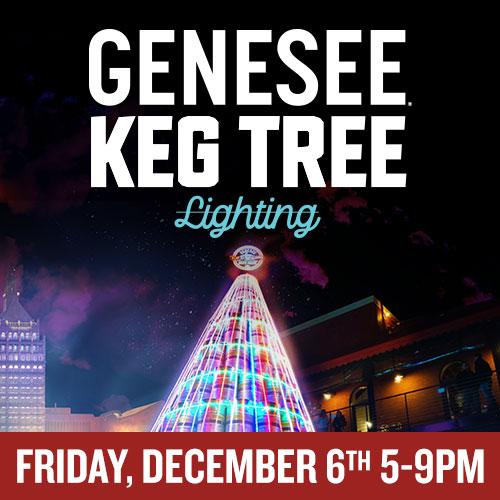 Genesee Keg Tree Lighting