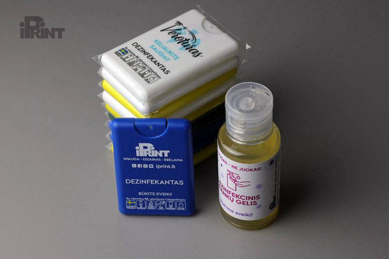 Įvairūs nešiojami dezinfekatoriai