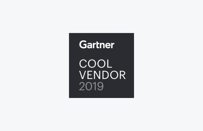 Gartner Cool Vendor 2019 logo