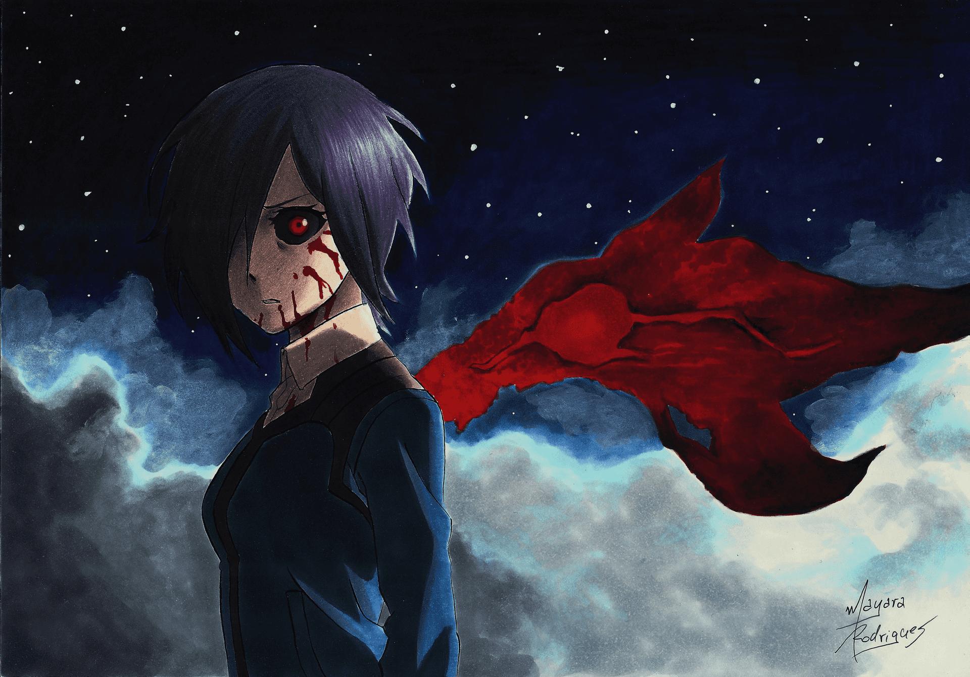 Desenho do Tokyo Ghoul