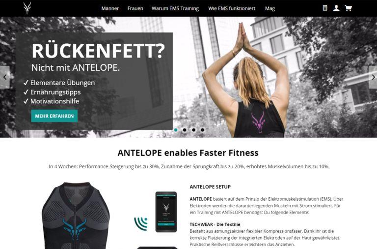 Shopware Shop Referenz: antelope.club
