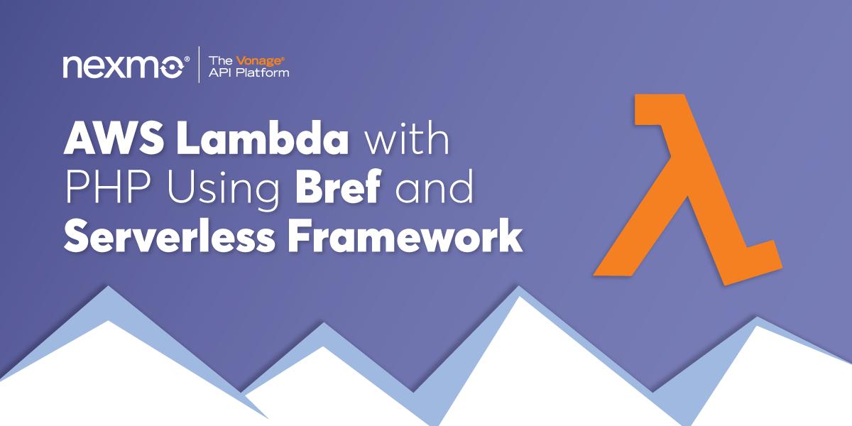 AWS Lambda With PHP Using Bref And Serverless Framework
